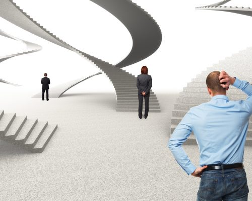 career-steps-powerpoint-backgrounds